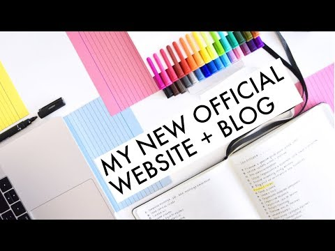 Learn How to Make a Website + My NEW Official Website