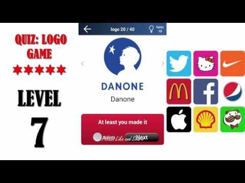 Quiz: Logo Game Level 7 - All Answers - Walkthrough ( By Lemmings At Work )