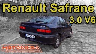 Renault Safrane - luksus w cenie Poloneza - MotoBieda