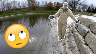 KICKED OUT for Fishing by Old Man!!! (I had permission)