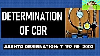 DETERMINATION OF CBR
