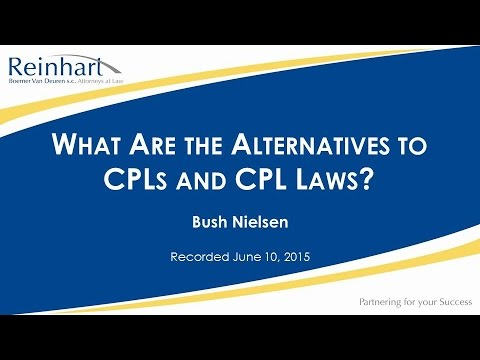 what are the alternatives to closing protection letters and closing protection laws