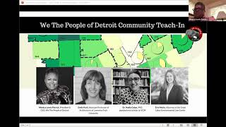 What is the impact of water shutoffs in Detroit during the COVID-19 Pandemic?