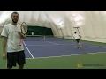 Как играть с соперником, который держит мяч (тактические приемы в теннисе)