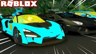 Racing Fans in the *NEW* McLaren Senna! (Roblox Ultimate Driving)
