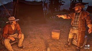 Angry Bill calls Micah a Fool / Hidden Dialogue / Red Dead Redemption 2