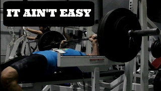 Failure Is NOT An Option: Grinding Out The Bench Press