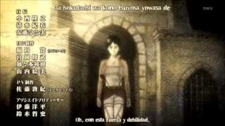 Repeat youtube video Ending 1 Shingek No Kyojin [Lyrics Y Sub Español]