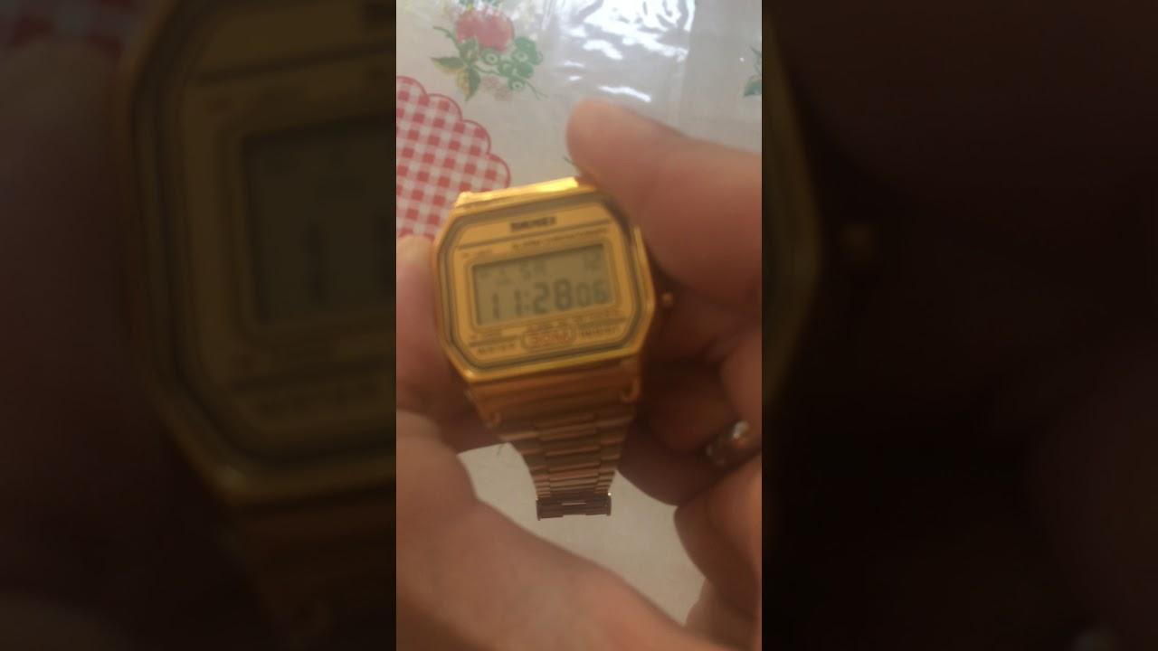 5d65c281a0d Relógio Skmei 1123 Gold - GearBest - YouTube