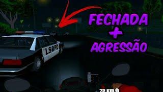 FUI AGREDIDO PELA POLÍCIA!!! (Gta San) Motovlog vida real#7