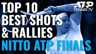 Top 10 Best Shots & Rallies | Nitto ATP Finals 2019