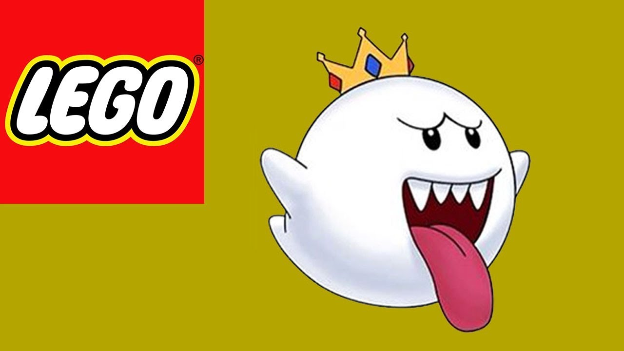 how to build lego nintendo king boo stop motion build bricks