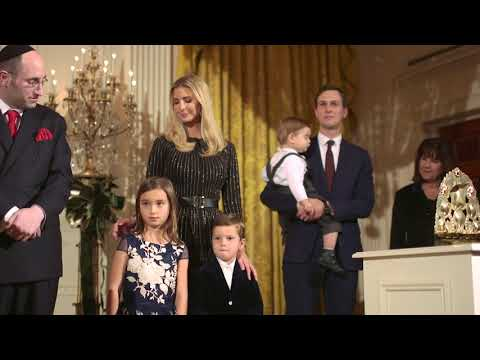 The First Family hosts a Hanukkah Reception