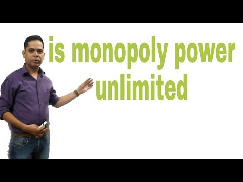 is monopoly power unlimited