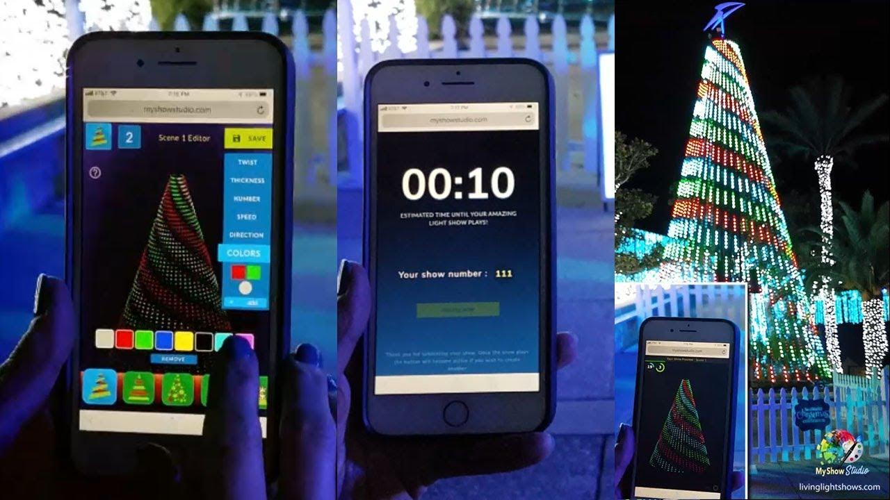 MyShow Studio App by Living Light Shows - Control the Lights!