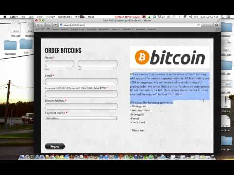 How To Buy Bitcoins Using Palpal, Western Union, Momneygram, Ect.
