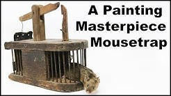 The Oldest Mouse Trap In My Collection - New Look To The Filming Studio. Mousetrap Monday