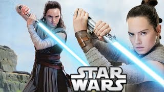 Rey and Kylo Ren's NEW Look Revealed!!! Star Wars The Last Jedi