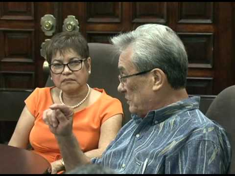 Nobel nominee Tony De Brum talks about Guam's quest for self-determination