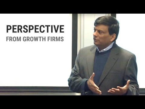 Perspective from Growth Firms - Rajeev Agarwal