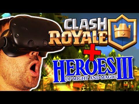 CLASH ROYALE Y HEROES OF MIGHT AND MAGIC EN REALIDAD VIRTUAL | SkyWorld VR