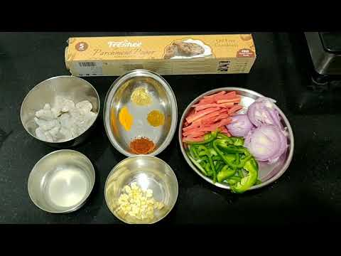 How to cook prawns in Oven|Fast and healthy receipe of prawns |zero oil receipe