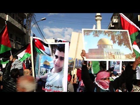 Jordan: demonstration against Trump's Jerusalem decision