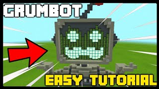 How To Make GRUMBOT in Minecraft | EASY TUTORIAL #Hermitcraft7 #MumboForMayor