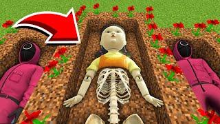 Minecraft : I Foขnd THE SQUID GAME SECRET GRAVE! (Ps3/Xbox360/PS4/XboxOne/PE/MCPE)