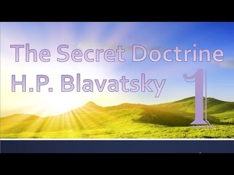 The Secret Doctrine by H P Blavatsky #1 Vol 1.1 Cosmic Evolution (Book Reading)