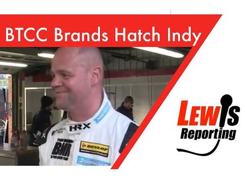 Warren Scott - Subaru TeamBMR - BTCC Brands Hatch Indy 2016