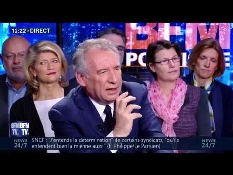 "François Bayrou réaffirme ""sa grande confiance"" en Emmanuel Macron"