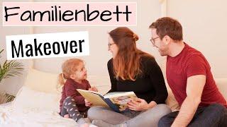Boho Schlafzimmer Makeover mit DIY Familienbett