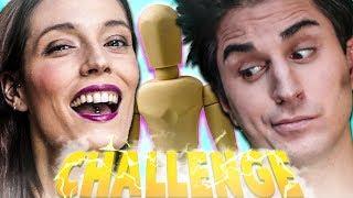 MANICHINO CHALLENGE EPICA!! ANIMA & KLAUS vs LASABRIGAMER E AMICO.ANDRE