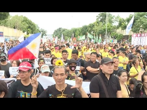 Filipinos Hold Rallies to Commemorate 1986 People Power Revolution