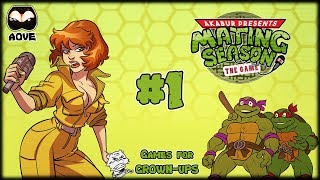 AOVE PlaYS! - Akabur's Mating Season The Game (Teenage Mutant Ninja Turtles Porn-Parody) . Ep1