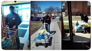 Жизнь в США: Покупки 1 Апреля 2015 В Детройте Лето   VLOG