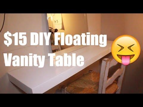 Floating Vanity DIY