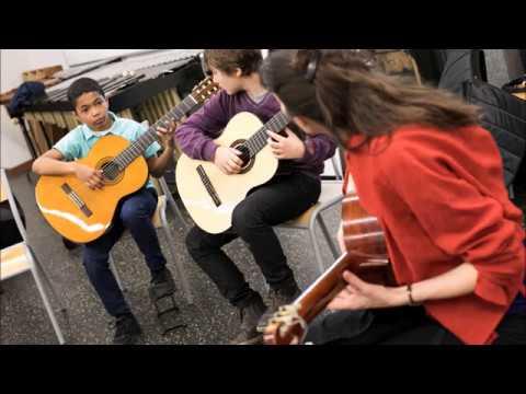 Musique, danse, chant et théâtre au conservatoire