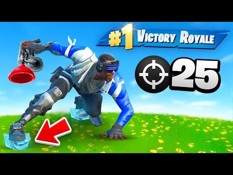 *FROZEN* FORTNITE IS BACK! (25 Elims)