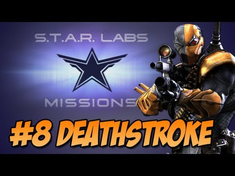 Injustice:Gods Among Us - Star Labs #8 Deathstroke