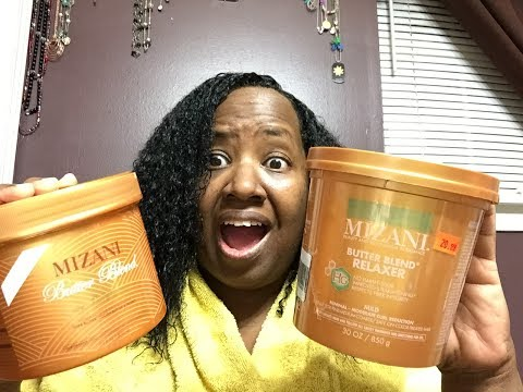 MIZANI BUTTER BLENDS RELAXER CHANGED??? My Relaxer Update & Chit Chat