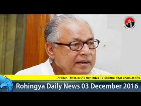 Rohingya Daily News 03 December 2016
