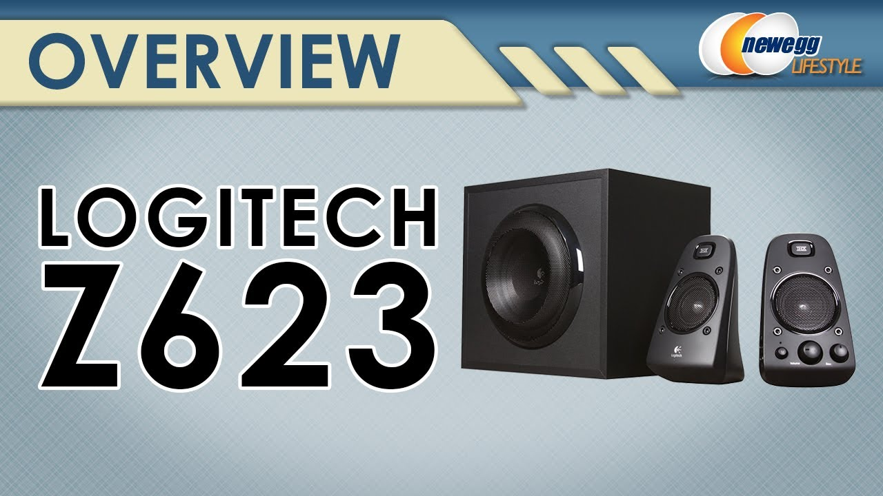 Logitech Z623 200 W 2 1 Speaker System  Thx