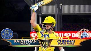 IPL 2020 - Match 4 - Rajasthan Royals vs Chennai Super Kings - Cricket 19 Prediction [4K]