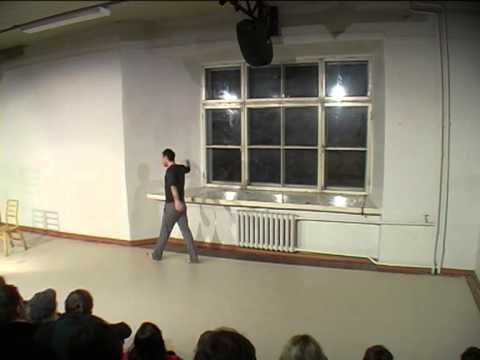 """Solo performance """"Waiting For..."""" by Jüri Nael"""
