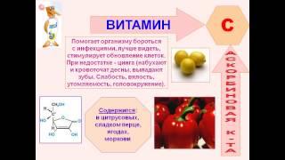 презентация по химии витамины