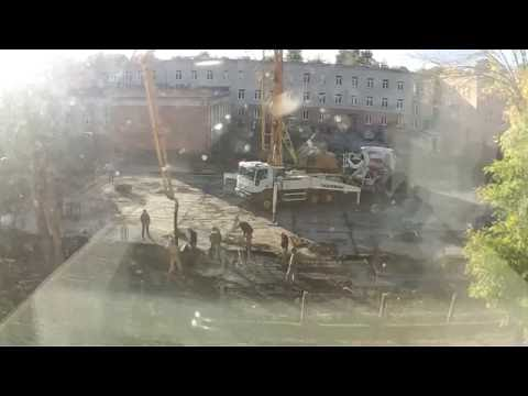 Budowa sali gimnastycznej w Świdniku cz  19 IP easycam
