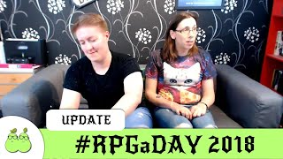 Pear of Geeks #RPGaDAY for 2018