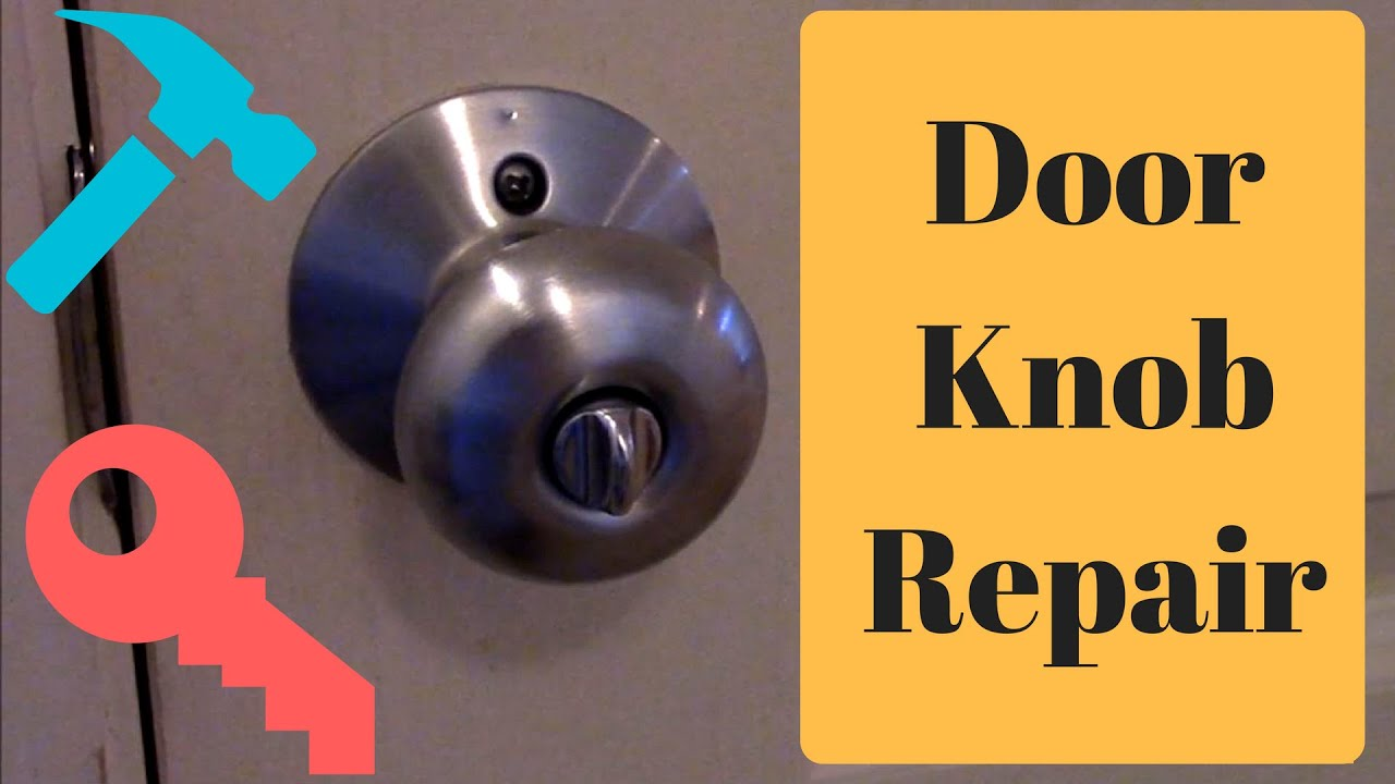 How To Fix A Stuck Door Latch And Door Knob Diy Youtube